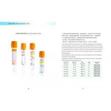 PET & Glass Vakuum Blutentnahmeröhrchen