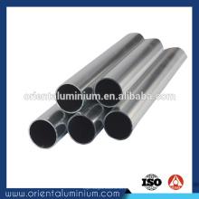 Perfil oval de alumínio