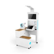 Umfassender Gesundheitsuntersuchungskiosk für körperliche Untersuchungen