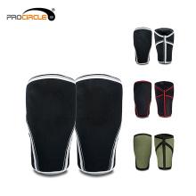 Benutzerdefinierte atmungsaktive Antislip Sport Baumwolle Knie Compression Sleeve