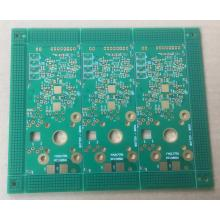 4 layer PCB with 2OZ Matt Green solder ENIG