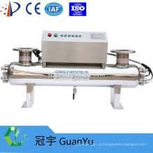254nm SS 304/316 UV esterilizador para a indústria de água