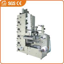 Máquina de impressão flexográfica de rótulos de papel de 5 cores (AC320-5B)