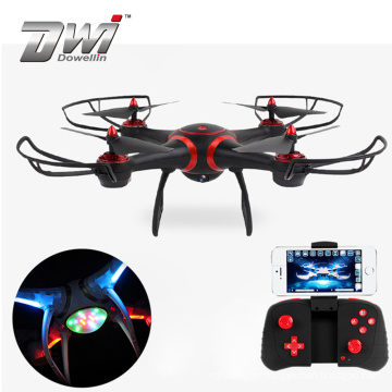DWI Professional 2.4g 4ch big toy camera led strobe light rc drone for sale