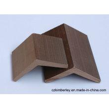 Proteção ambiental de madeira composto WPC borda