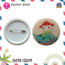 Wholesale High Quality Custom Plastic Button Badge