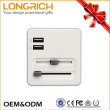 Adaptador de enchufe schuko universal universal con fusible OEM & ODM service