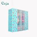 Cherry Plastic Storage Cabinet Blue Kleiderschrank