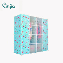 Cherry Plastic Storage Cabinet Blue Wardrobe