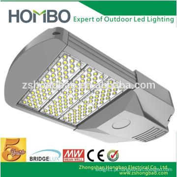 Fábrica direta alumínio iluminação exterior 90W 100W 120W 150W SMD levou luzes de rua