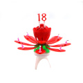 Billiga Wax Wholesale Musical Flower Candle