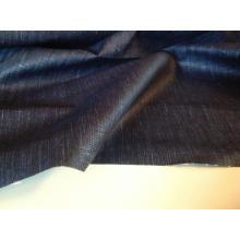 Tissu de denim floqué de coton de 100% pour l'extension de jeans
