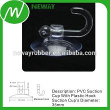 Copo de sucção de bloqueio de 35 mm com gancho médio