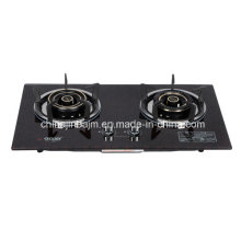 2 Burners 760 Tempered Glass Top Built-in Hob/Gas Hob