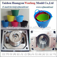 plastic household products of 10L flexible plastic bucket mould&injection moulding