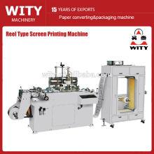 Máquina de impresión de la pantalla del tipo del carrete (impresora de la pantalla de la etiqueta)