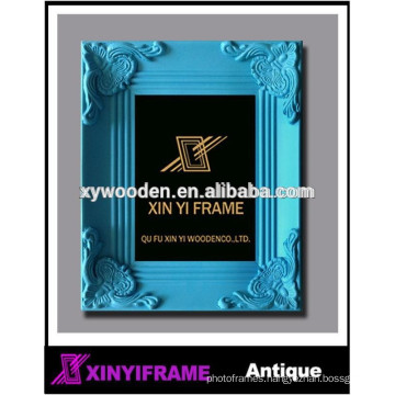 tropical blue style design picture frame bedroom decoration