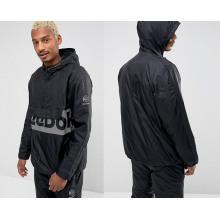 Black Men′s Fashion Pullover Hoodies