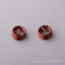 latão m2-m96 alça de inserção com rosca para plástico