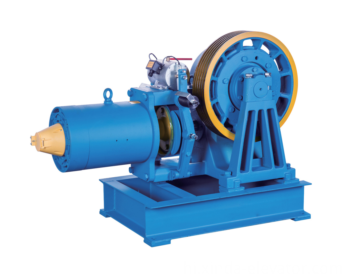 Geared Traction Machine