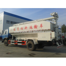 12m3 dongfeng bulk feed truck, 4x2 china bulk feed discharge truck