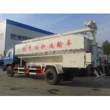 12m3 caminhão de alimentação a granel dongfeng, 4x2 China caminhão de descarga de alimentação em massa