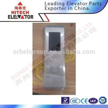 Panneau d'appel de l'ascenseur / avec bouton rond