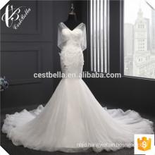 Princess Maxi Wedding Dresses Hot Sexy White Sequin Lace Applique White Mermaid Wedding Dresses