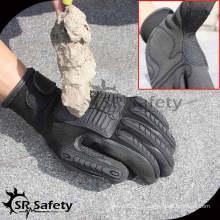 SRSAFETY 13G трикотажная нить с нитриловым покрытием перчатки с перфорированными перчатками