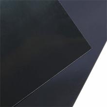 Láminas de espejo de plástico de PVC baratas de película negra brillante