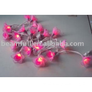 light chain with flower