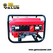 Gerador trifásico da gasolina do valor 2kw do poder para a venda