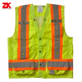 Oxford  fabric Shot sleeve reflective security jacket