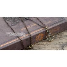 Moda camisola cadeia mulheres jóias pingente de colar vintage
