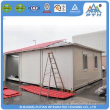 Hochwertige moderne EPS Sandwichplatte Fertig Einzelbett Container Häuser zum Verkauf