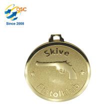 Herstellung billig Großhandel benutzerdefinierte Award Medaille mit Metall Bar Football League Challenge Coin gemacht