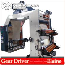 Letter Press Four Color Kraft Paper Flexo Printing Machinery