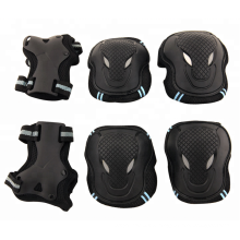 Skate & Ski Knie Ellenbogenschutz Protektoren 6 Stück Anzug Kinder Ski Skate Protektoren