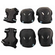 Protectores de codo de rodilla Skate & Ski protectores 6 piezas de esquí para niños protectores de patinaje