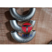 Seamless Stainless Steel 180 Degree Elbow