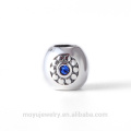 925 sterling silver charm bead for DIY brand bracelet or bangle