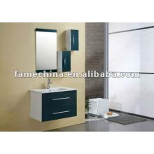 Armário de banheiro moderno armário sanitário de PVC