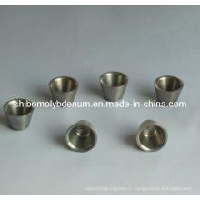Creusets de molybdène forgés purs à 99,95%