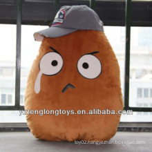 Hot Selling Plush Potato Toys With Cap