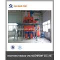 Línea de producción semiautomática de mortero
