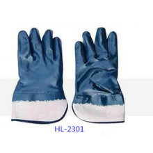 Nitrile  Dipped Glove for Chemical Processing