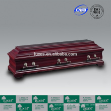LUXES caixões de madeira sólida de estilo alemão & caixões para venda