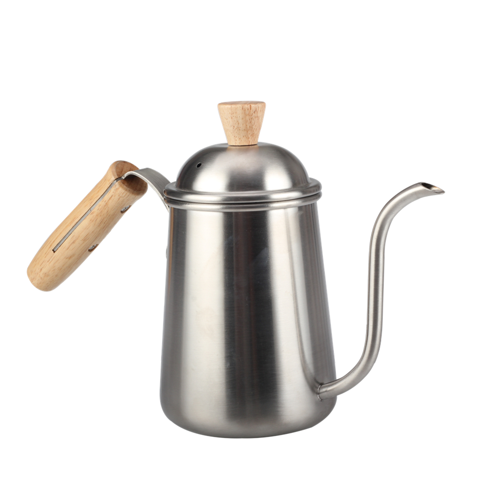 Gooseneck Stainless Steel Drinkware Pour Over Drip Kettle
