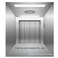 Hairline Stainless Steel Freight Elevator