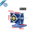 12v / 24v 120W motor de engranaje helicoidal de velocidad de desaceleración positiva y negativa